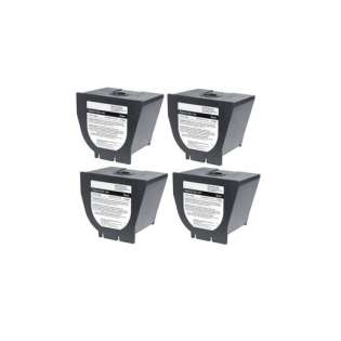 Replacement for Lanier 117-0234 cartridge - black - 4-pack