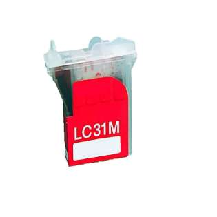 Compatible cartridge for Brother LC31M - magenta