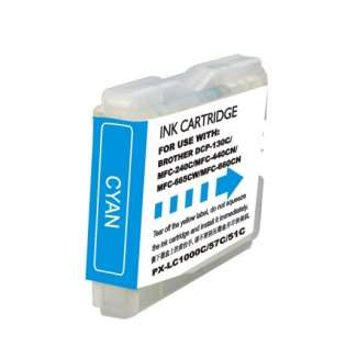 Compatible cartridge Brother LC51C - high capacity cyan