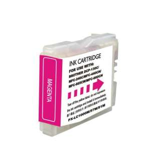 Compatible cartridge Brother LC51M - high capacity magenta