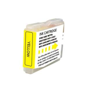 Compatible cartridge for Brother LC51Y - high capacity yellow