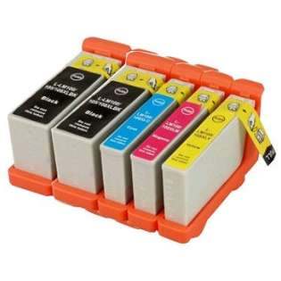 Compatible Lexmark 100XL ink cartridges (contains 5 cartridges)