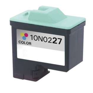 Remanufactured Lexmark 27, 10N0227 ink cartridge, color