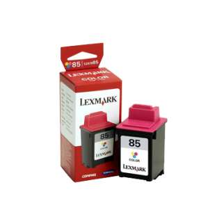 Lexmark 85, 12A1985 Genuine Original (OEM) ink cartridge, high capacity yield, color