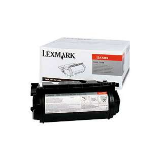 OEM Lexmark 12A7365 cartridge - high capacity black