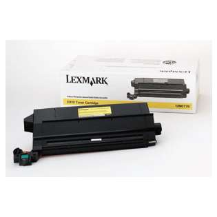 OEM Lexmark 12N0770 cartridge - yellow