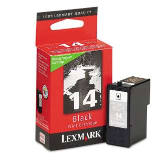 Lexmark 14, 18C2090 Genuine Original (OEM) ink cartridge, black, 175 pages