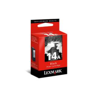 Lexmark 14A, 18C2080 Genuine Original (OEM) ink cartridge, black