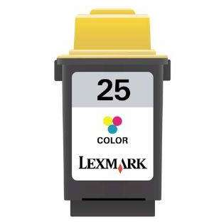 Lexmark 25, 15M0125 Genuine Original (OEM) ink cartridge, color high capacity yield