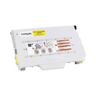 OEM Lexmark 15W0902 cartridge - yellow