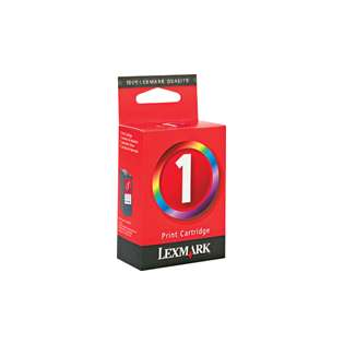 Lexmark 1, 18C0781 Genuine Original (OEM) ink cartridge, color