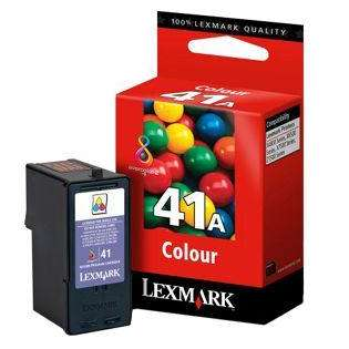 Lexmark 41A, 18Y0341 Genuine Original (OEM) ink cartridge, color