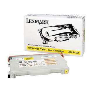 OEM Lexmark 20K1402 cartridge - high capacity yellow