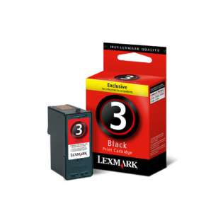 OEM Lexmark 18C1530 / #3 cartridge - black