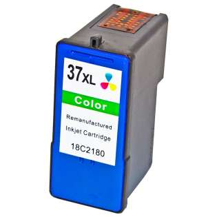 Remanufactured Lexmark 37XL, 18C2200, 18C2180 ink cartridge, high capacity yield, color