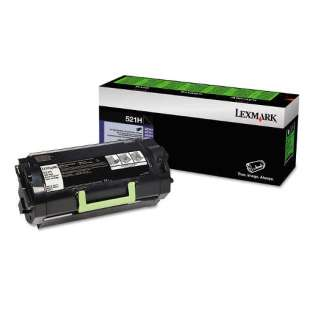 Genuine Original Lexmark 52D1H00 (521H) toner cartridge - high capacity black