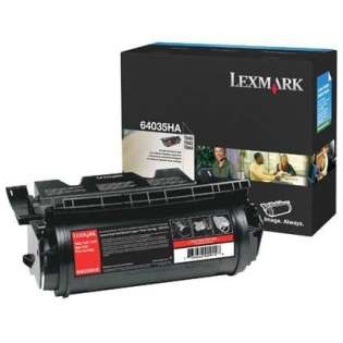 OEM Lexmark 64035HA cartridge - high capacity black