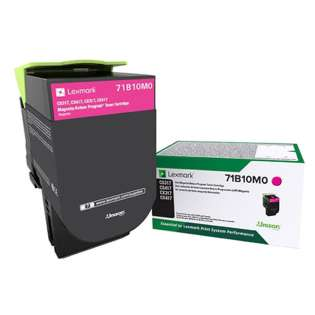 Original Lexmark 71B10M0 toner cartridge - magenta