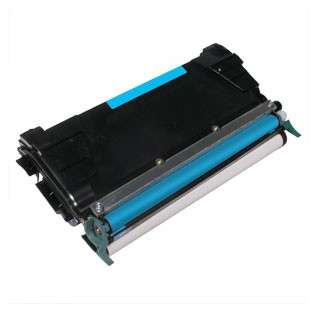 Replacement for Lexmark C5222CS cartridge - cyan