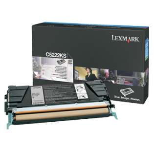 OEM Lexmark C5222KS cartridge - black