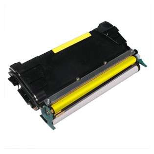 Replacement for Lexmark C5222YS cartridge - yellow
