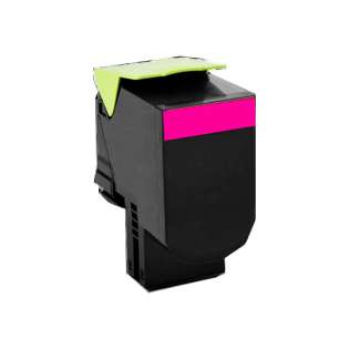 Remanufactured Lexmark C540H1MG toner cartridge - magenta