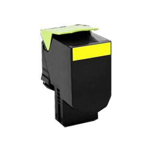 Remanufactured Lexmark C540H1YG toner cartridge - yellow