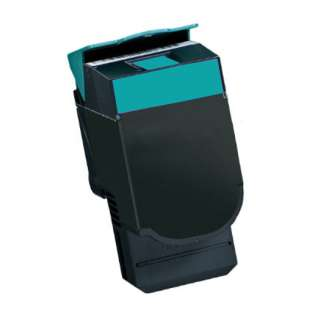 Replacement for Lexmark C540H2CG cartridge - high capacity cyan