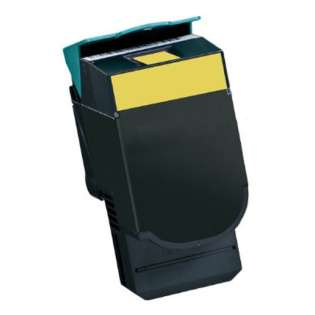 Replacement for Lexmark C540H2YG cartridge - high capacity yellow