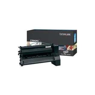OEM Lexmark C780A2KG cartridge - black