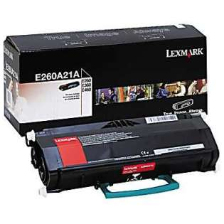 OEM Lexmark E260A21A cartridge - black