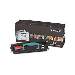 OEM Lexmark E352H21A cartridge - high capacity black