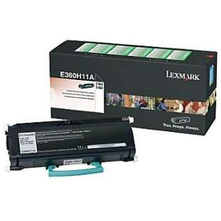 OEM Lexmark E360H11A cartridge - high capacity black