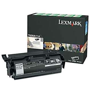 OEM Lexmark T650A11A cartridge - black