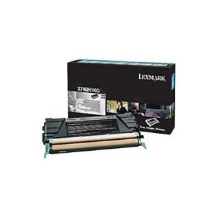 OEM Lexmark X746H1KG cartridge - high capacity black
