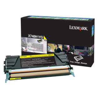 OEM Lexmark X748H1YG cartridge - high capacity yellow