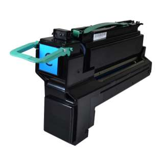 Remanufactured Lexmark X792X2CG toner cartridge - extra high capacity yield cyan