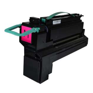 Remanufactured Lexmark X792X2MG toner cartridge - extra high capacity yield magenta