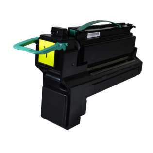 Remanufactured Lexmark X792X2YG toner cartridge - extra high capacity yield yellow
