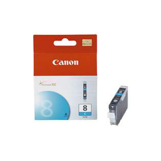 Canon CLI-8C Genuine Original (OEM) ink cartridge, cyan