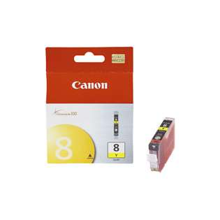 Canon CLI-8Y Genuine Original (OEM) ink cartridge, yellow