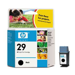 HP 29, 51629A Genuine Original (OEM) ink cartridge, black