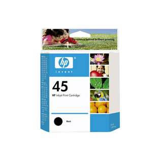 HP 45, 51645A Genuine Original (OEM) ink cartridge, black