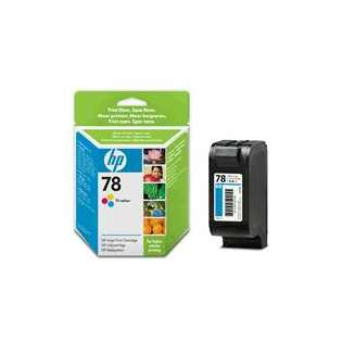 HP 78, C6578DN Genuine Original (OEM) ink cartridge, tri-color