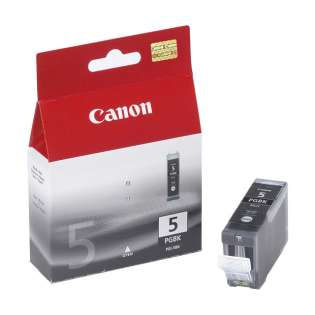 Canon PGI-5 Genuine Original (OEM) ink cartridge, pigment black