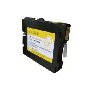 Compatible Ricoh GC31Y, 405691, gel ink cartridge, yellow, 1750 pages