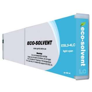 Compatible Roland ESL3-4LC Eco-Sol Max ink cartridge, light cyan