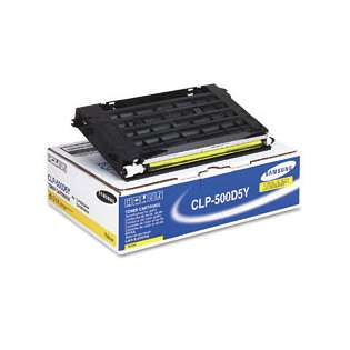 OEM Samsung CLP-500D5Y cartridge - yellow