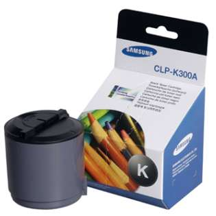 OEM Samsung CLP-K300A cartridge - black