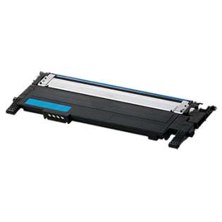 Compatible Samsung CLT-C406S toner cartridge, 1000 pages, cyan